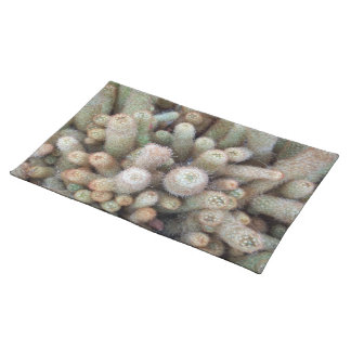 Southwest Lady Finger Cactus Photograph Cacti Placemats