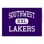 Southwest - Lakers - high - Minneapolis Minnesota Greeting Card