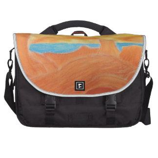 Southwest Landscape Chalk Drawing Laptop Bag