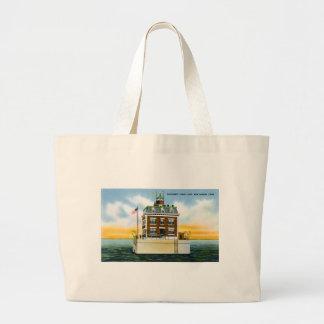 Southwest Ledge Light, New London, Connecticut Canvas Bag