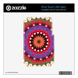 Southwest  Mayan Aztec Mexican Tribal Geometric Decal For iPod Touch 4G