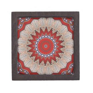 Southwest  Mayan Aztec Mexican Tribal Geometric Gift Box