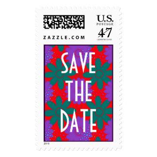 Southwest Megafiori WEDDING Save The Date Postage