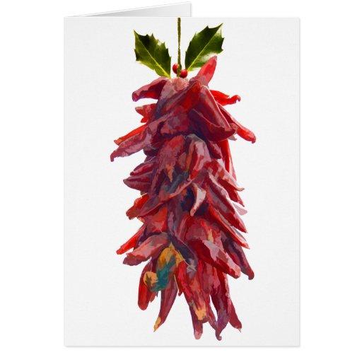 Southwest Mistletoe Greeting Card