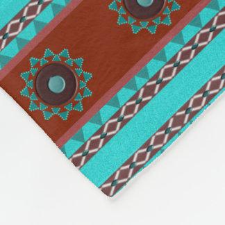 Southwest Motif Fleece Blanket