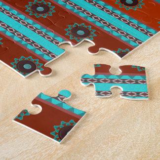 Southwest Motif Jigsaw Puzzle 10x14