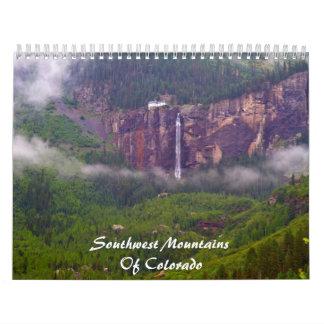 Southwest Mountains Of Colorado Calendar