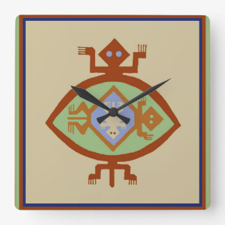 Southwest Native American Mimbres Turtle Clock