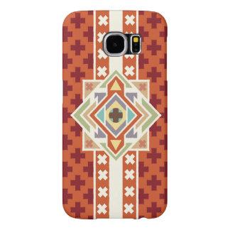 Southwest Native Geometric Tribal Pattern Samsung Galaxy S6 Cases