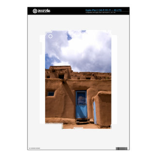 Southwest New Mexico Adobe House Village iPad 3 Decal