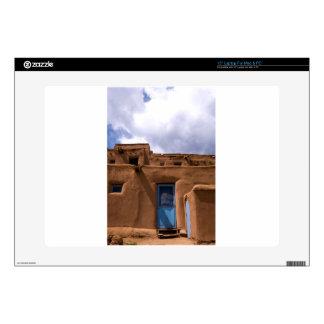 Southwest New Mexico Adobe House Village Skin For Laptop