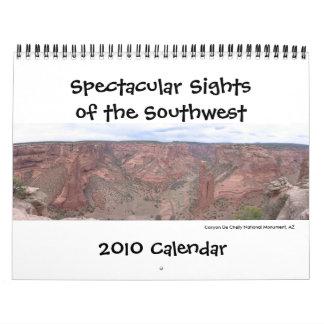 Southwest Parks 2010 Calendar