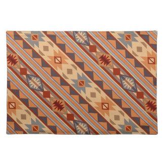 Southwest Pattern Design Tan Placemat