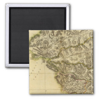 Southwest Perthshire 2 Inch Square Magnet