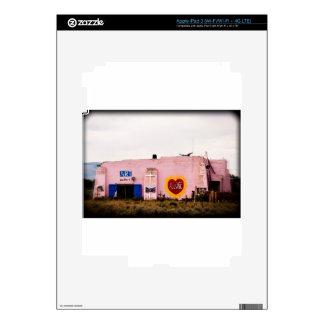 Southwest Pink Art Stucco Building iPad 3 Decals