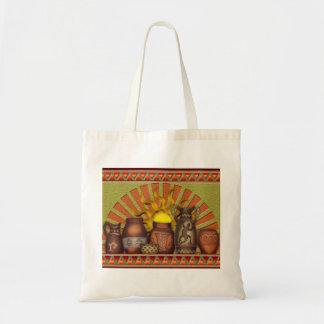 Southwest Pottery Handbag Budget Tote Bag