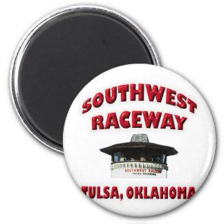 Southwest Raceway Magnet