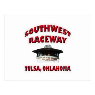 Southwest Raceway Postcard
