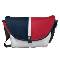 Southwest Red and Blue Messenger Bag