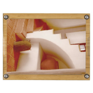 Southwest Sepia Steps Rectangular Cheeseboard