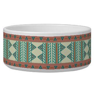 Southwest Serenity Pet Dog Cat Ceramic Bowl Large