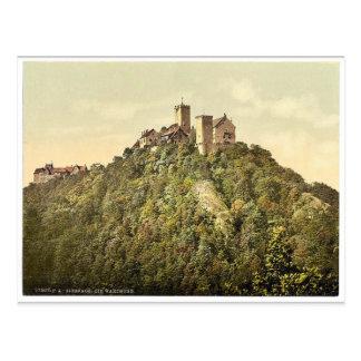 Southwest side, Wartburg, Thuringia, Germany rare Postcard