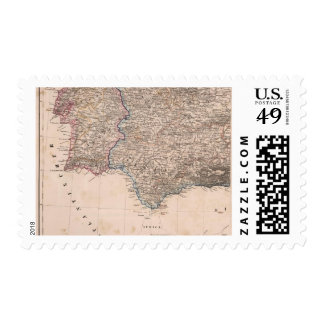 Southwest Spain and Portugal Postage Stamp