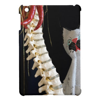 Southwest Spine Skeleton Chili Pepper Cat Cover For The iPad Mini