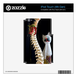 Southwest Spine Skeleton Chili Pepper Cat iPod Touch 4G Skins
