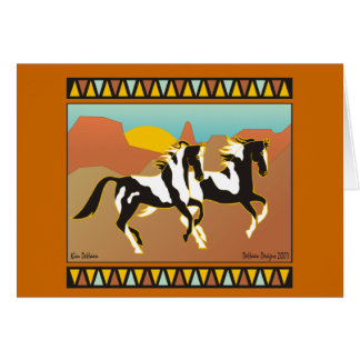 Southwest Spirit Equestrian Note Card