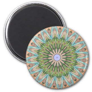 Southwest Stained Glass Kaleidoscope Magnet