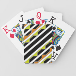 southwest stripes bicycle playing cards