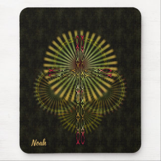 Southwest style Cross Mouse Pad
