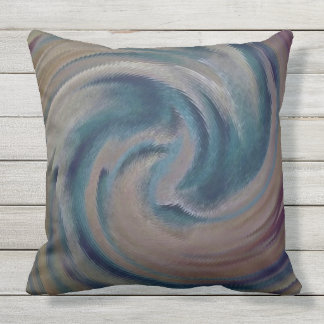 Southwest Swirl Throw Pillow