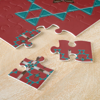 Southwest Symmetry Jigsaw Puzzle w/ Gift Box 8x10