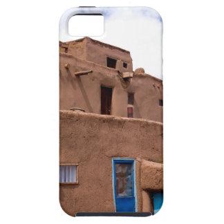 Southwest Taos Adobe Pueblo House New Mexico iPhone 5 Case