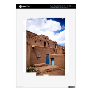 Southwest Taos Adobe Pueblo House New Mexico iPad 3 Skin