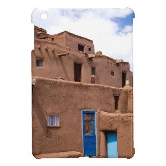 Southwest Taos Adobe Pueblo House New Mexico iPad Mini Covers