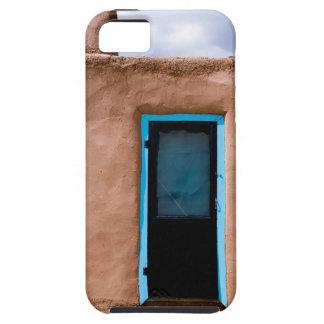 Southwest Taos Adobe Pueblo House Turquoise Door iPhone 5 Case
