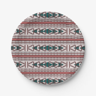Southwest Tapestry Paper Plate