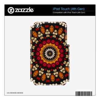 Southwest Tribal Geometric Western Print iPod Touch 4G Decals
