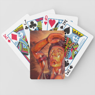 Southwest  Tribal Native American Indian Chief Bicycle Playing Cards