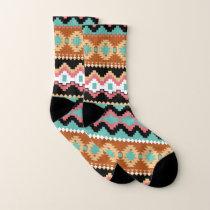 Southwest Tribal Pattern Socks