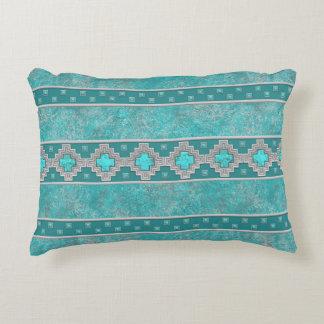 Southwest Turquoise Decorative Pillow