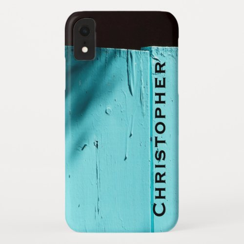 Southwest Turquoise Door  iPhone XR XS XS Max Name iPhone XR Case