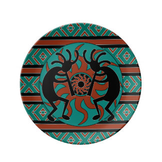 Southwestern Design southwestern design plates | zazzle
