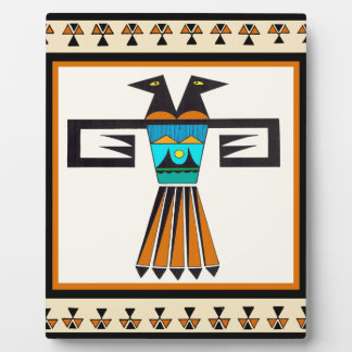 Southwest Twin Bird Head Plaque