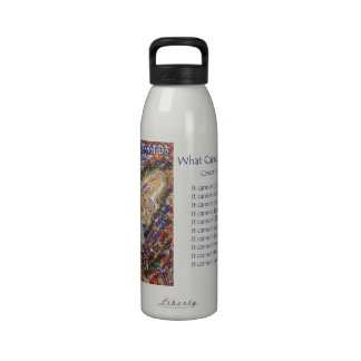 Southwest What Cancer Cannot Do Angel Water Bottle