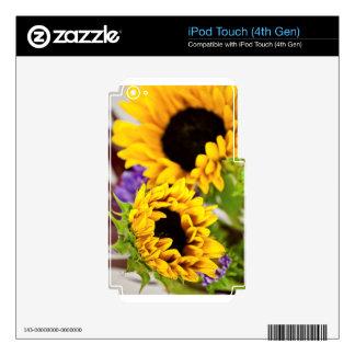 Southwest Yellow Sunflower iPod Touch 4G Skin