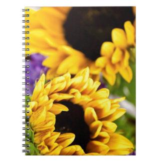 Southwest Yellow Sunflower Notebooks